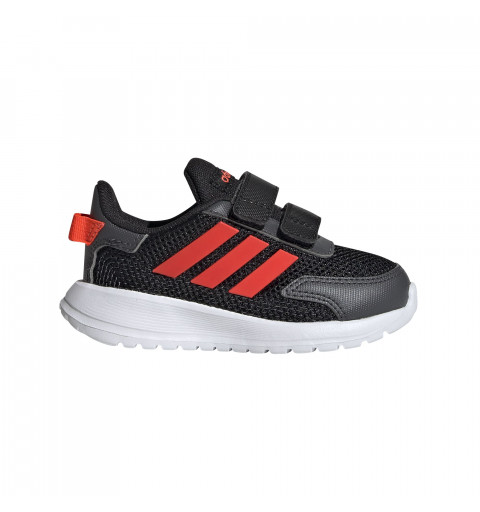 Adidas Tensaur Run I Negro-Rojo