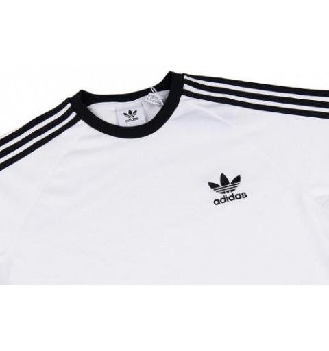 omitir plátano fácilmente  Camiseta Adidas 3-Stripes Blanca-Negra