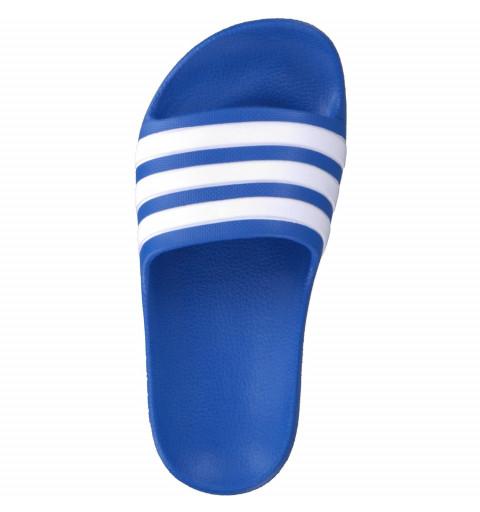 Chancla Adidas Adilette Kids Blue-Blanca
