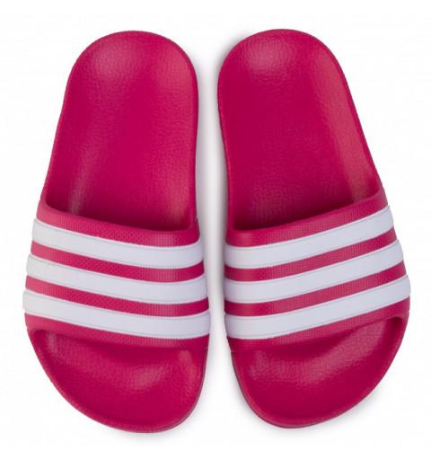Chancla Adidas Adilette Aqua Kids Fresa-Blanca
