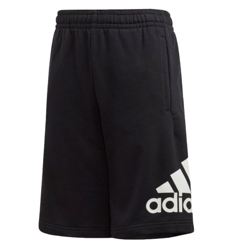 Short Adidas Must Haves Negro-Blanco
