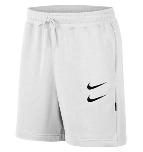 Bermuda Nike NSW Swoosh FT Blanco