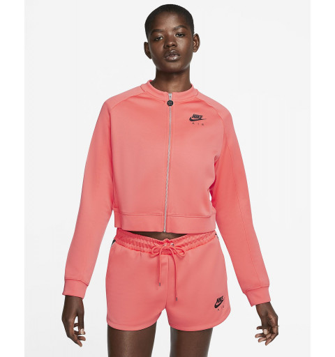 Sudadera Nike Mujer NSW Air Naranja