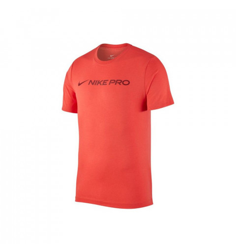 Camiseta Nike Pro Dri-Fit Training Naranja