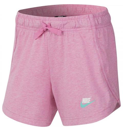 Short Nike Niña Sportswear Jersey Rosa