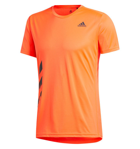 Camiseta Adidas Run It Naranja
