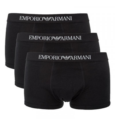 Boxer Armani Pack3 Negro