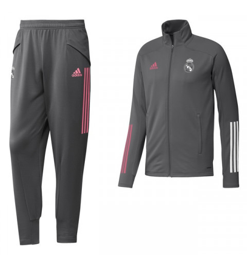 Chandal Adidas Real Madrid 2020-21 Gris