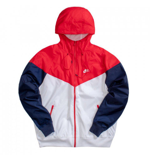 Jacket Nike NSW Air Blanca/Roja