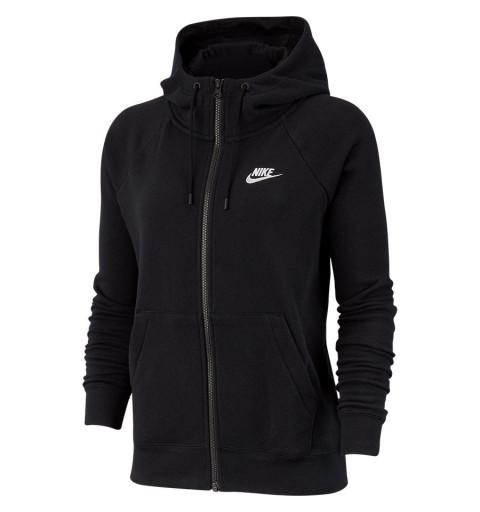Sudadera Nike Mujer NSW Essential Hoodie Negra