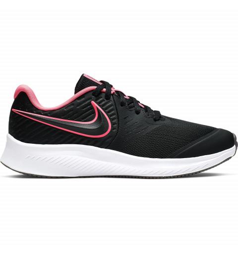 Nike Star Runner 2 Negra/Rosa