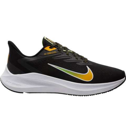 Nike Zoom Winflo 7 Negra/Gold