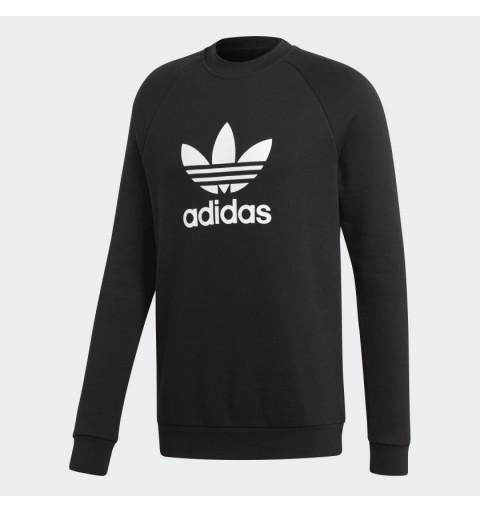 Sudadera Adidas Trefoil Negra