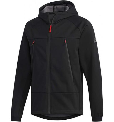 Softshell Adidas Hood Negro