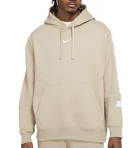 Sudadera Nike Capucha Sportswear Khaki