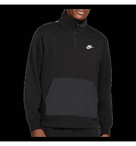 Sudadera Nike Sportswear 1/2 Zip Negra