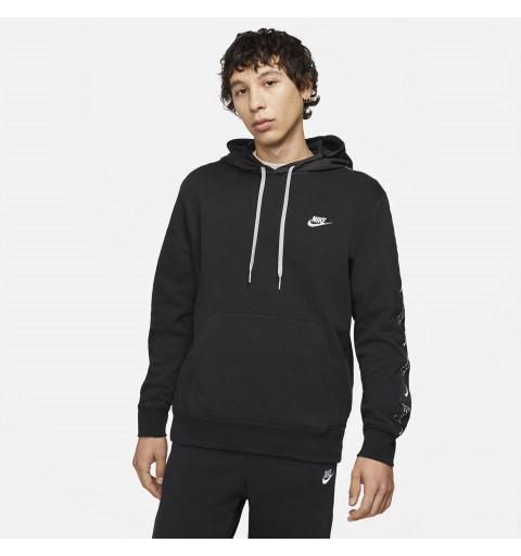 Sudadera Nike Sportswear Club Capucha Negra