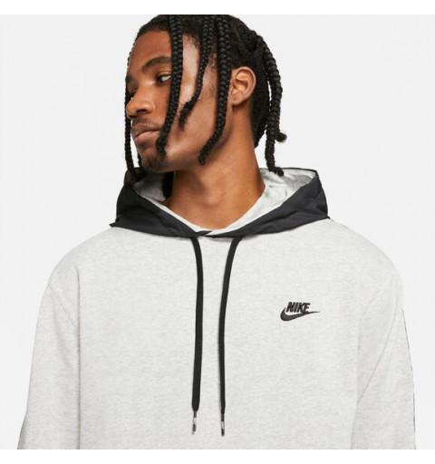 Sudadera Nike Sportswear Club Capucha Gris