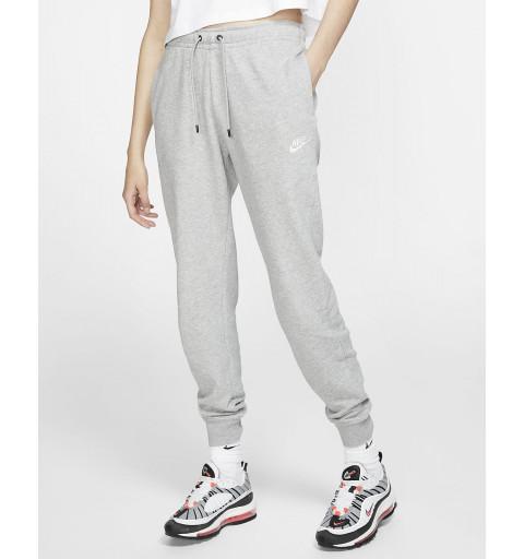 Pantalón Nike Mujer Sportswear Club Gris