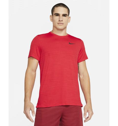 Camiseta Nike Hombre Superset Drifit Roja