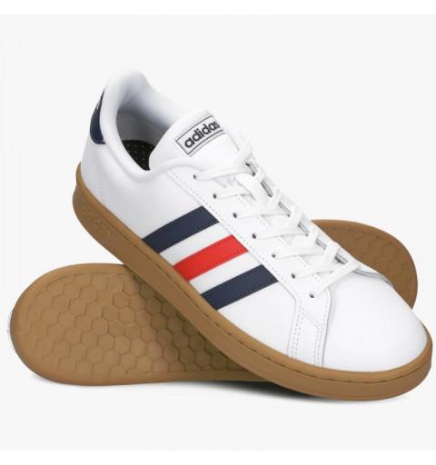 Zapatilla Adidas Grand Court Blanca