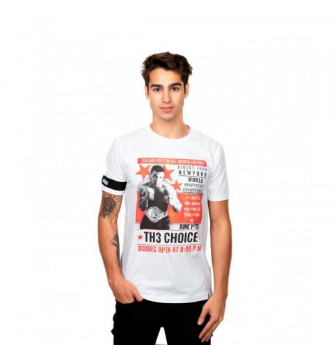 Camiseta TH3 Choice Heavy Weight Blanca