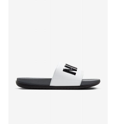Chancla Nike Offcourt Slide Gris/Negra/Blanca