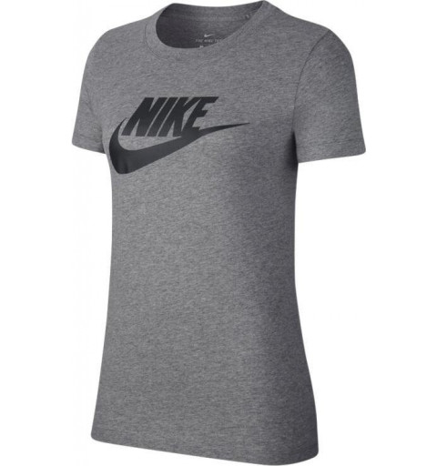 Camiseta Nike Mujer NSW Essentials Gris