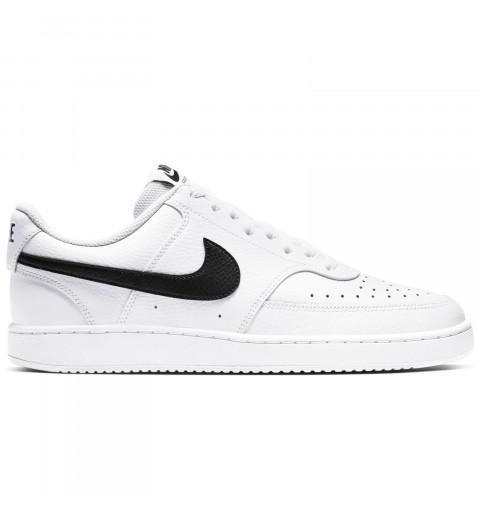 Zapatilla Nike Court Vision Low Blanca/Negra