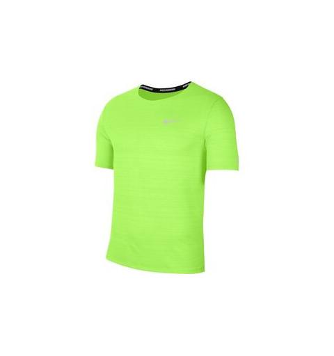 Camiseta Nike Hombre Miler Dri-fit Verde