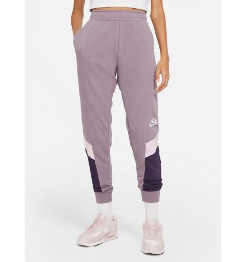Pantalón Nike Mujer NSW Heritage Malva