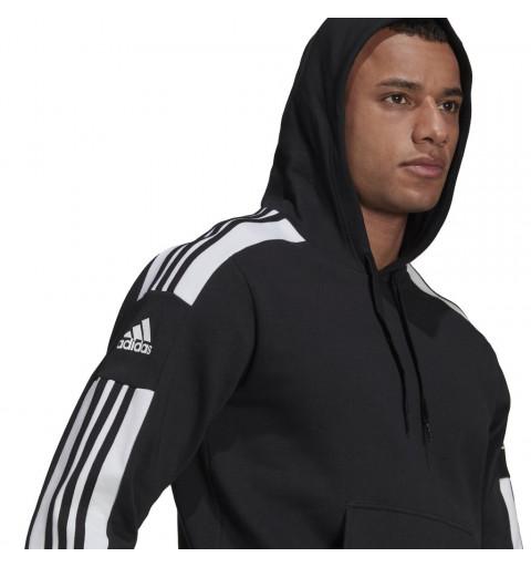 Sudadera Adidas Squadra 21 Capucha Negra