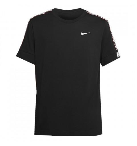 Camiseta Nike Hombre repeat Negra