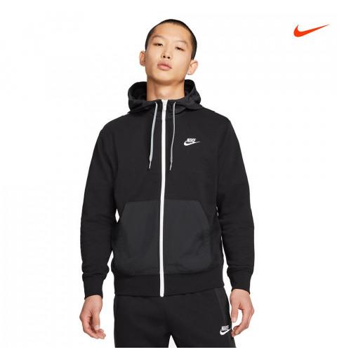 Sudadera Nike Hombre Nsw CE Capucha Negra