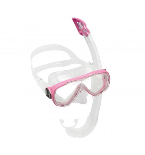 Kit Cressi Sub Onda Transparente Rosa