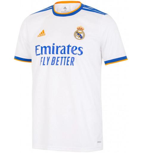 Maillot Blanc Adidas Real...
