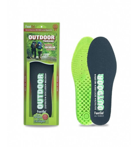 Plantilla Footgel Gel Outdoor Eucalipto 43-47