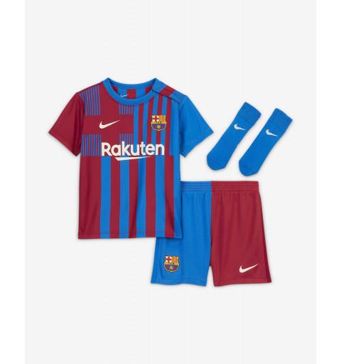 Conjunto Nike FC Barcelona Bebé 1ª Equipación 2021-2022