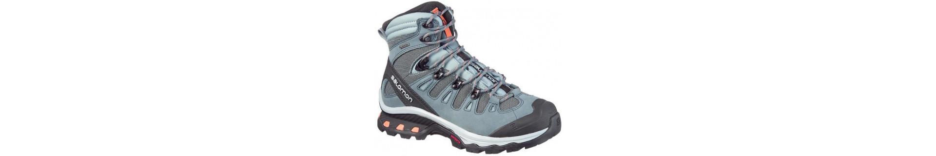 Zapatillas de montaña y trekking para mujer, Adidas, Salomon, Asics